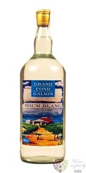 Grand Fond Galion blanc Martinique rum 50% vol.  1.00 l