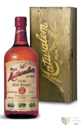 "Matusalem "" Gran reserva "" aged 15 years wood box Cuban rum 40% vol.  0.70 l"