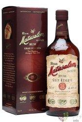 "Matusalem "" Gran reserva "" aged 15 years Cuban rum 40% vol.  1.00 l"