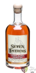 Seven Fathoms Cayman Islands gold rum 40% vol.  0.70 l
