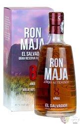 Maja 8 years old El Salvador rum 40% vol.  0.70 l