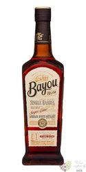 "Bayou special release "" Single Barrel "" aged American rum 40% vol.  0.70 l"
