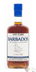 "Cane Island "" Xo extra old "" aged Barbados rum 40% vol.  0.70 l"