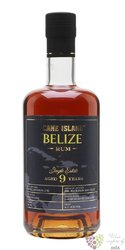 "Cane Island single estate "" Travellers "" aged 9 years rum of Belize 43% vol.  0.70 l"