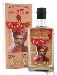 "Big Mama "" Sauternes finished ""aged 15 years Demerara rum 40% vol. 0.70 l"