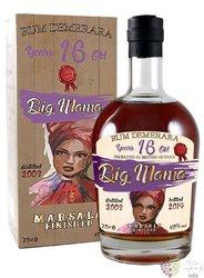 "Big Mama 2003 "" Marsala finished "" aged 16 years Demerara rum 40% vol. 0.70 l"