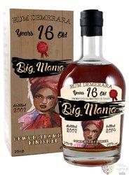 "Big Mama 2003 "" Gewurztraminer wine cask finished "" aged 16 years Demerara rum 40% vol. 0.70 l"