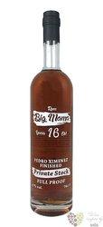 "Big Mama full proof "" Px cask finish "" aged 16 years Demerara rum 67% vol.  0.70 l"