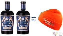 "Hispánico ""  Px Elixír "" gift set flavored Caribbean rum 34% vol.  2x0.70 l"