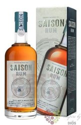 """Saison """" Cognac cask finish """" gift box aged caribbean rum by Tessendier & fils 42% vol.  0.70 l"""