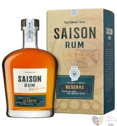 """Saison """" Reserve """" aged caribbean rum by Tessendier & fils 43,5% vol.  0.70 l"""