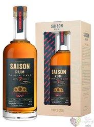 "Saison "" vintage rum of Trinidad "" aged 7 years caribbean rum by Tessendier & fils 48% vol.0.70"