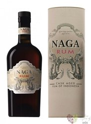 Naga cask aged Indonesian rum 38% vol.  0.70 l