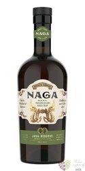 "Naga "" Java Reserve "" aged Indonesian rum 40% vol.  0.70 l"