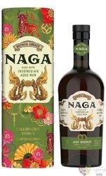 "Naga "" Java Reserve Celebtration "" aged Indonesian rum 40% vol.  0.70 l"