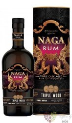 "Naga "" Triple Wood  cask"" aged Indonesian rum 40% vol.  0.70 l"