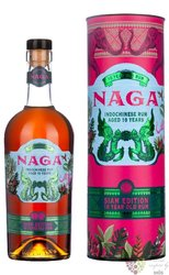 "Naga "" Siam cask "" aged 10 years Indochinese rum 40% vol.  0.70 l"