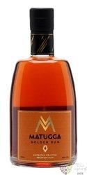 Matugga Golden British rum & African soul 42% vol.  0.70 l