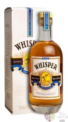 "Whisper Antigua "" Gold "" aged caribbean rum 40% vol.  0.70 l"