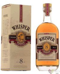 Whisper Antigua 8 years aged caribbean rum 40% vol.  0.70 l