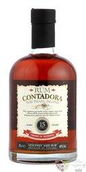 Contadora aged 15 years Panamas rum 40% vol.  0.70 l