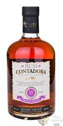 """Contadora """" Premium Reserva """" aged 18 years Panamas rum 40% vol. 0.70 l"""