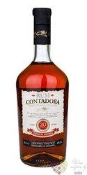 """Contadora """" Premium Reserva """" aged 20 years Panamas rum 40% vol. 0.70 l"""