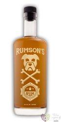"""Rumson´s """" Original """" aged caribbean rum 40% vol.  0.75 l"""