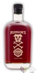 "Rumson´s "" Grand reserve "" aged caribbean rum 40% vol.  0.75 l"