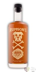 """Rumson´s """" Spiced """" flavored lightly aged caribbean rum 40% vol.  0.75 l"""