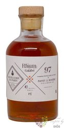 "Distillerie de Paris "" Galabe "" aged rum of Reunion 43% vol.  0.50 l"