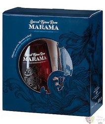 Marama Spiced glass set aged Fijian rum 40% vol.  0.70 l
