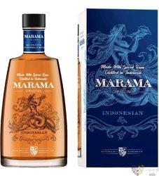 Marama Original aged Indonesian rum 40% vol.  0.70 l