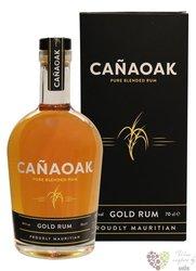 "CanaOak "" Gold "" mxed Mauritian & Nicaraguan rum 40% vol.  0.70 l"