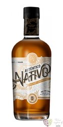 Autentico Nativo aged 15 years Panamas rum 40% vol. 0.70 l