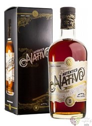 Autentico Nativo aged 15 years gift box Panamas rum 40% vol. 0.70 l