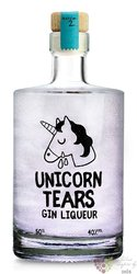 Unicorn Tears English flavored gin 40% vol.  0.50 l