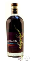 "Eight Islands "" Spiced "" flavored rum of Caribbean islands 35% vol.  0.70 l"