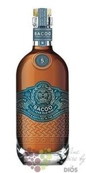 Bacoo aged 5 years  Dominicana rum 40% vol.  0.70 l