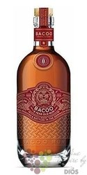 Bacoo aged 8 years  Dominicana rum 40% vol.  0.70 l