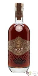Bacoo aged 12 years Dominican rum 40% vol.  0.70 l