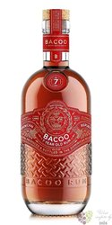 Bacoo aged 7 years Dominicana rum 40% vol.  0.70 l