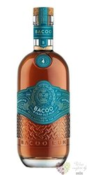 Bacoo aged 4 years Dominican rum 40% vol.  0.70 l
