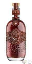 Bacoo aged 11 years Dominican rum 40% vol.  0.70 l