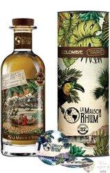 "la Maison du Rhum II. 2007 "" Hacienda Coloma "" aged Colombian rum 46% vol.  0.70 l"