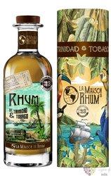 """la Maison du Rhum III. 2008 """" Amontilado Sherry cask """" rum of Trinidad & Tobago 44% vol.  0.70 l"""
