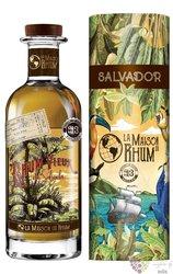 """Maja 2011 """" la Maison du Rhum III. """" aged rum of el Salvador 40% vol.  0.70 l"""
