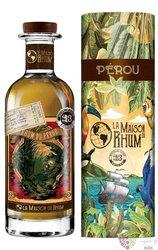 "Millonario 2011 "" la Maison du Rhum III."" aged rum of Pérou 48% vol.  0.70 l"