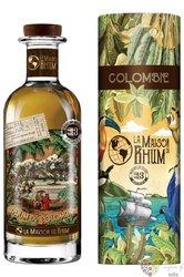 "Hacienda Coloma 2008 "" la Maison du Rhum III."" aged Colombian rum 46% vol.  0.70 l"