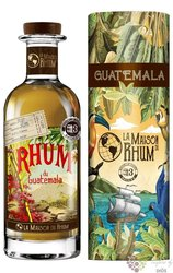 "Botran 2011 "" la Maison du Rhum III."" aged Guatemalan rum 42% vol.  0.70 l"